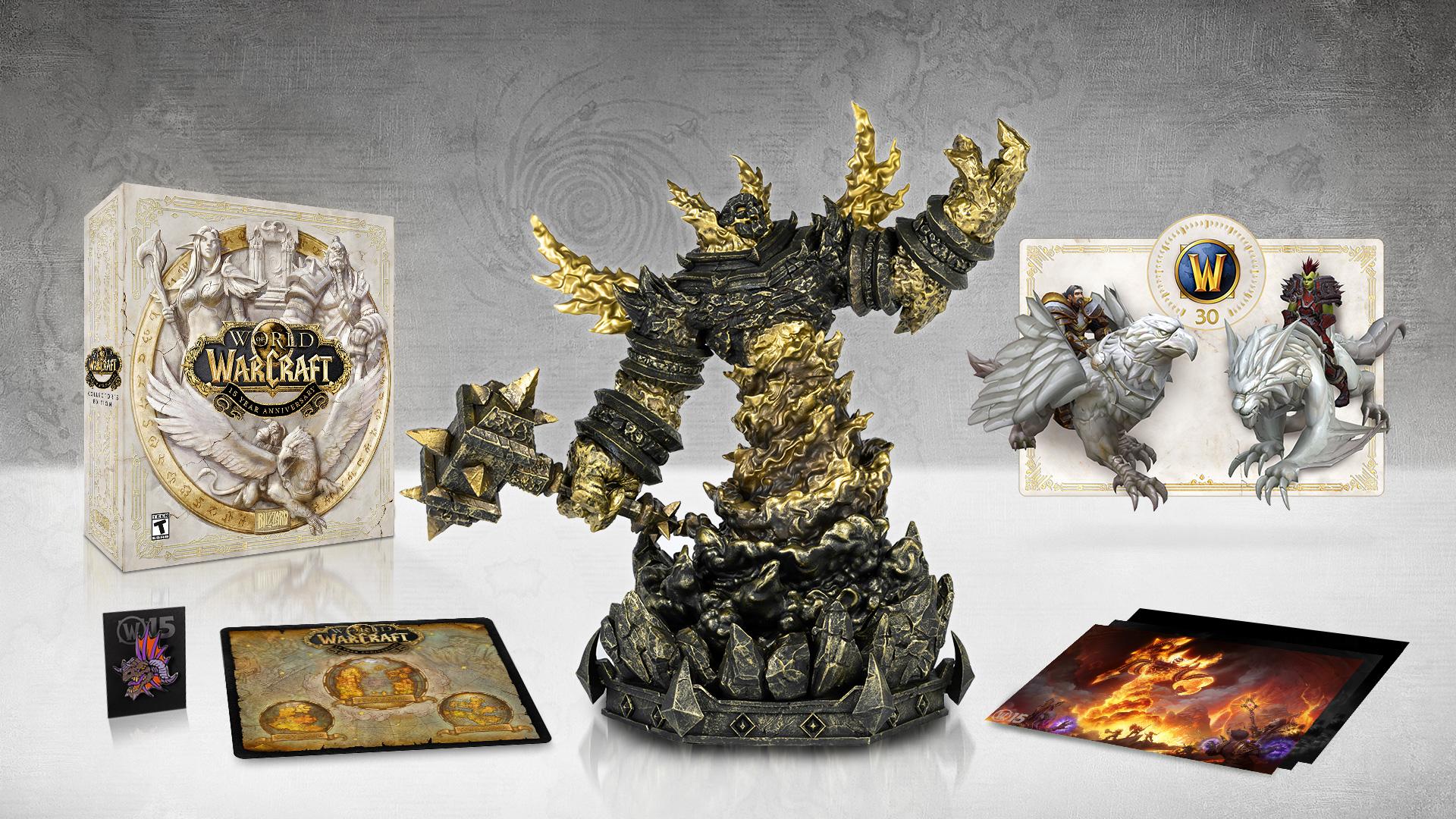 L'édition collector de WoW Classic avec la statuette Ragnaros