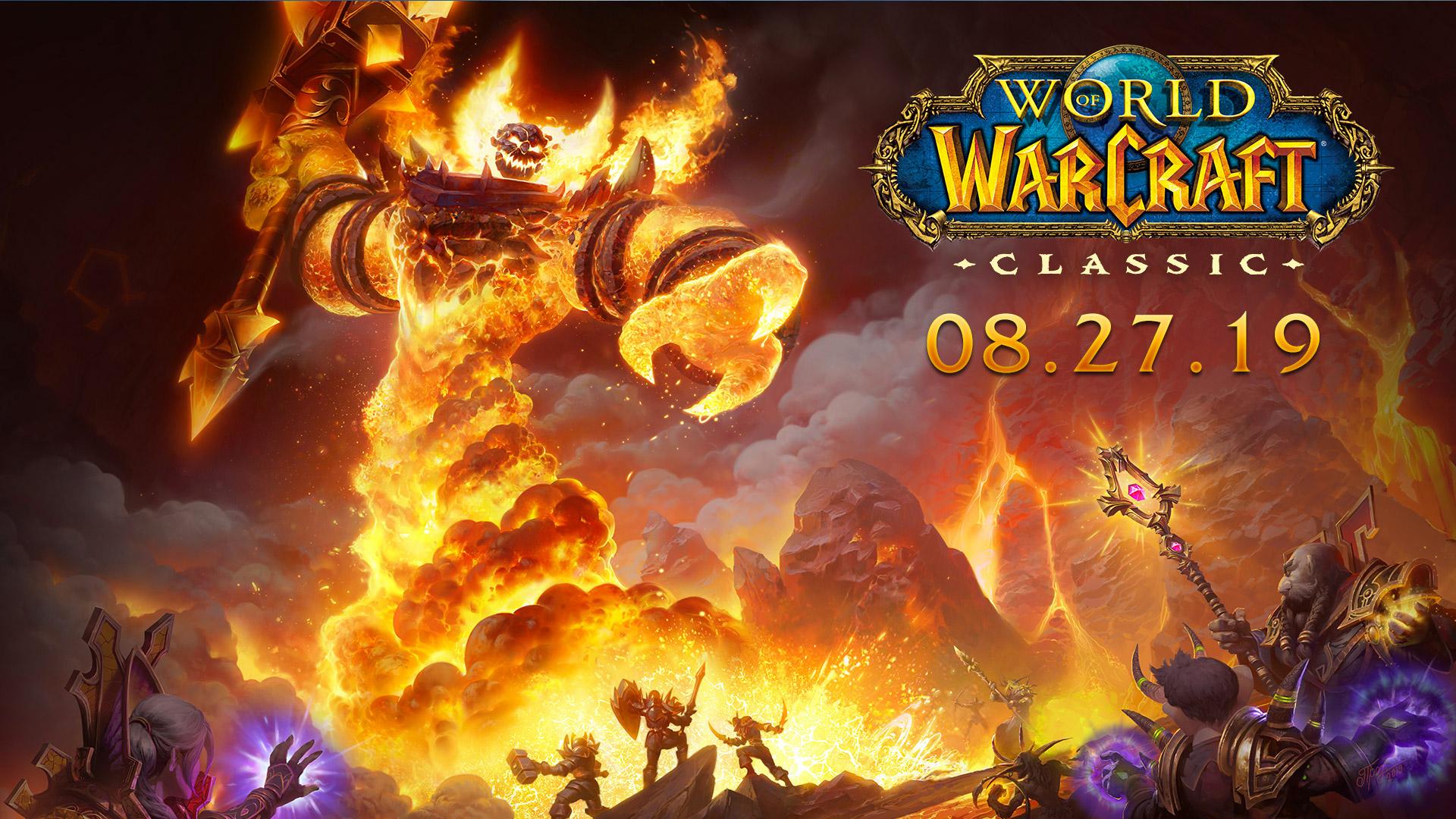 WoW Classic sort le 27 août dans le monde entier