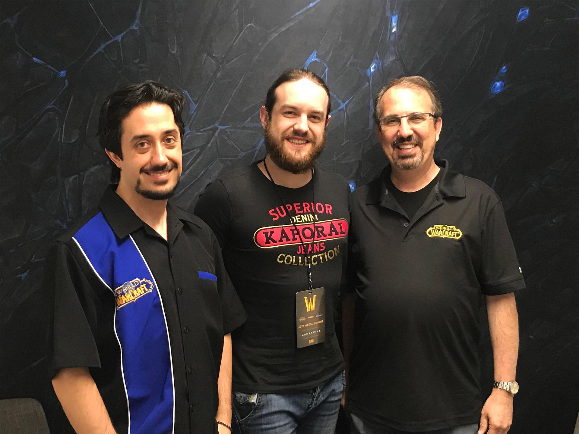 Omar Gonzalez, Zecharia et John Hight ont discuté de WoW Classic
