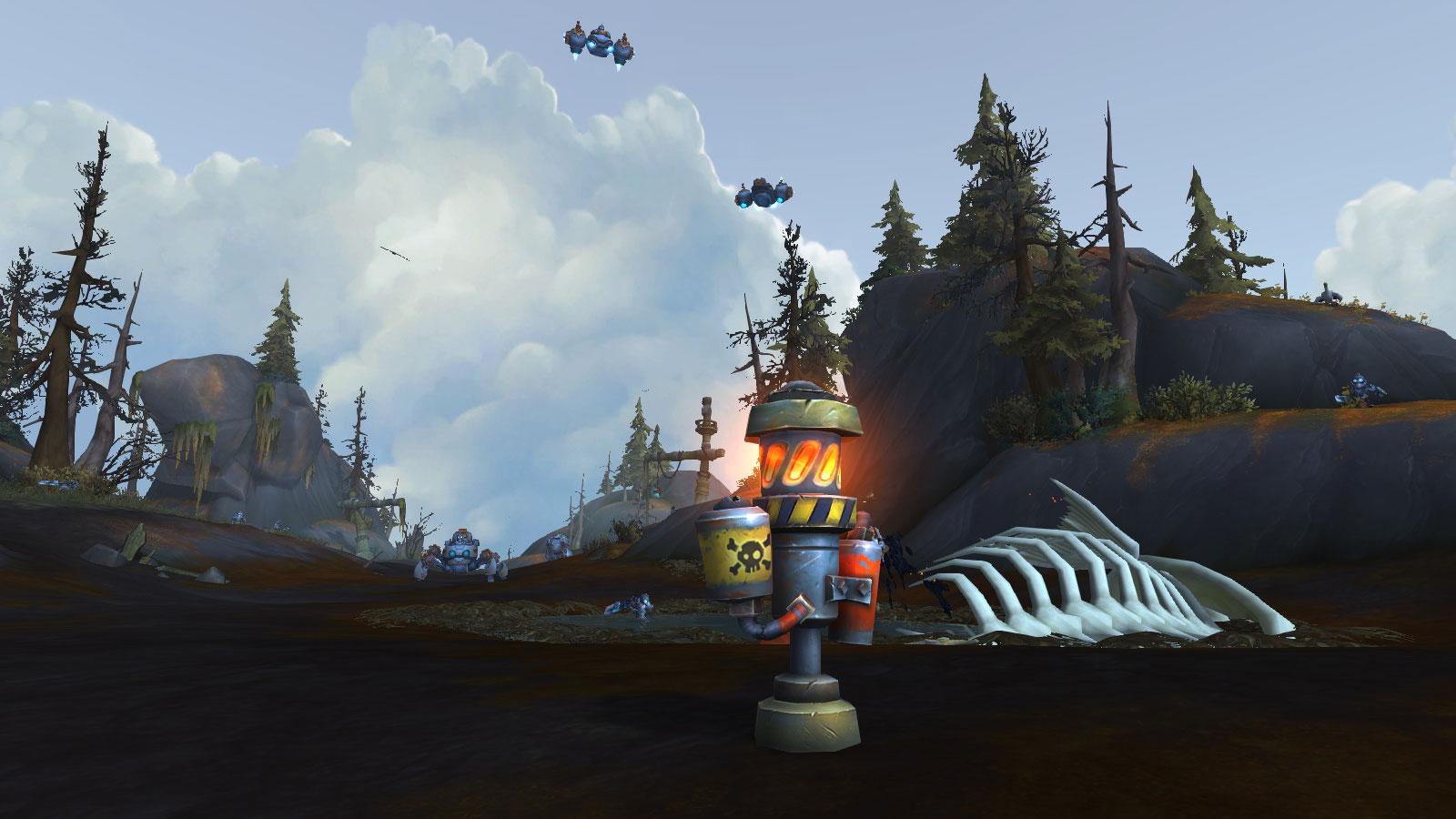 Les tourelles à feu se battent pour votre faction en mode guerre