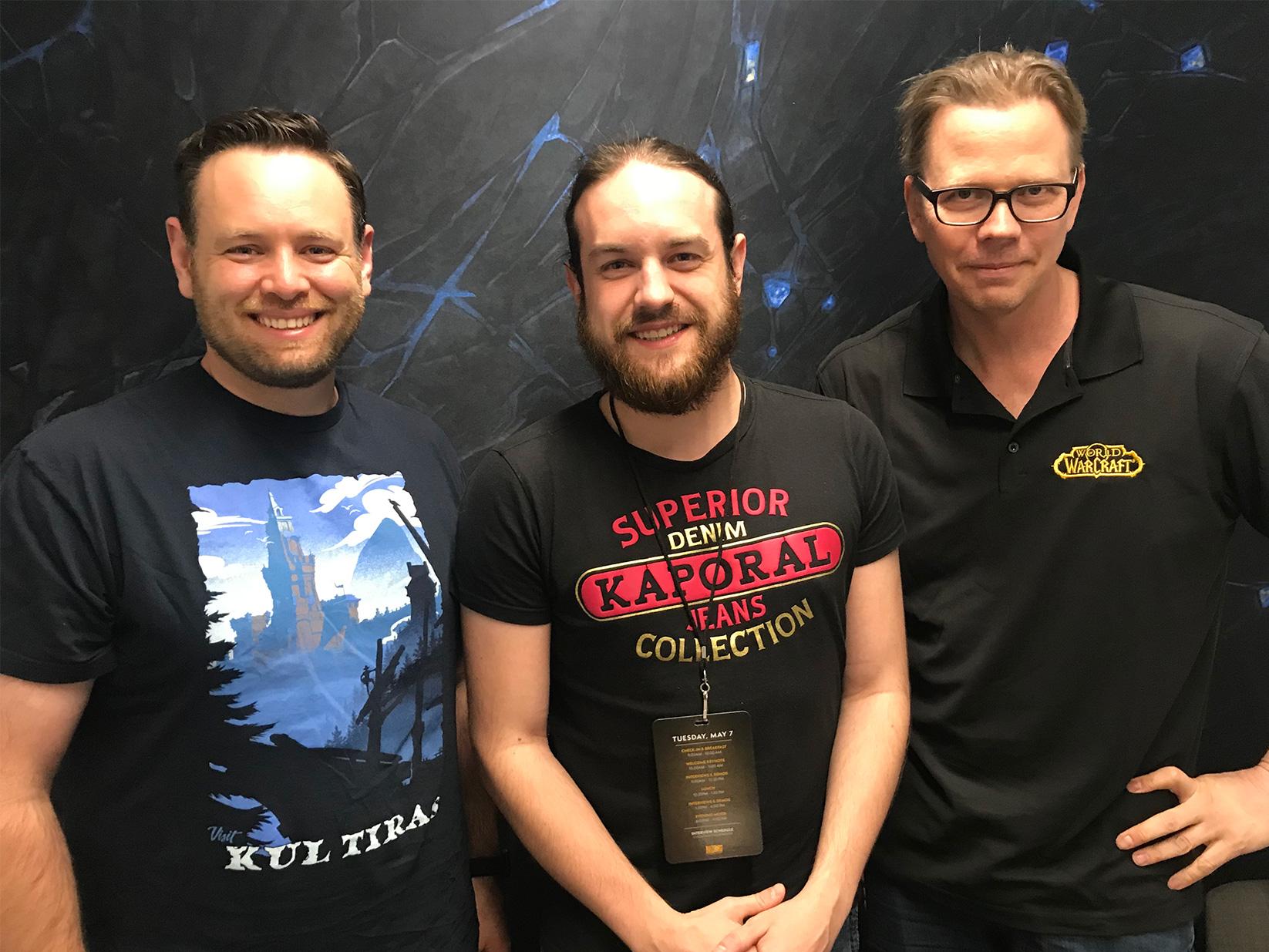 Kevin Martens, Frank Kowalkowski et Zecharia ont discuté du patch 8.2