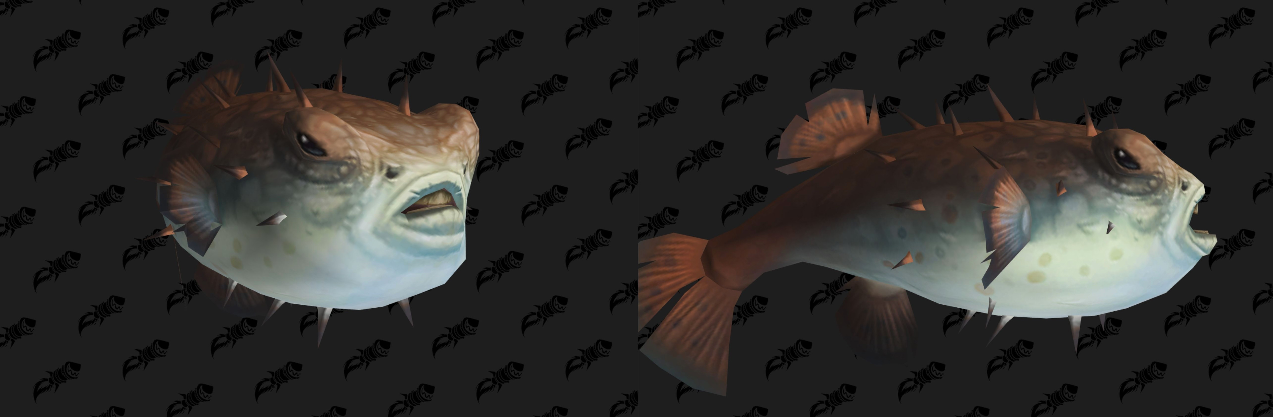 Nouveau modèle de poisson globe au patch 8.2