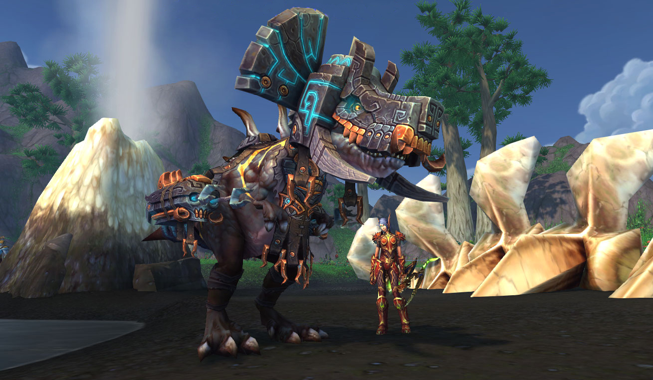 Le World boss Oondasta est domptable au patch 8.2