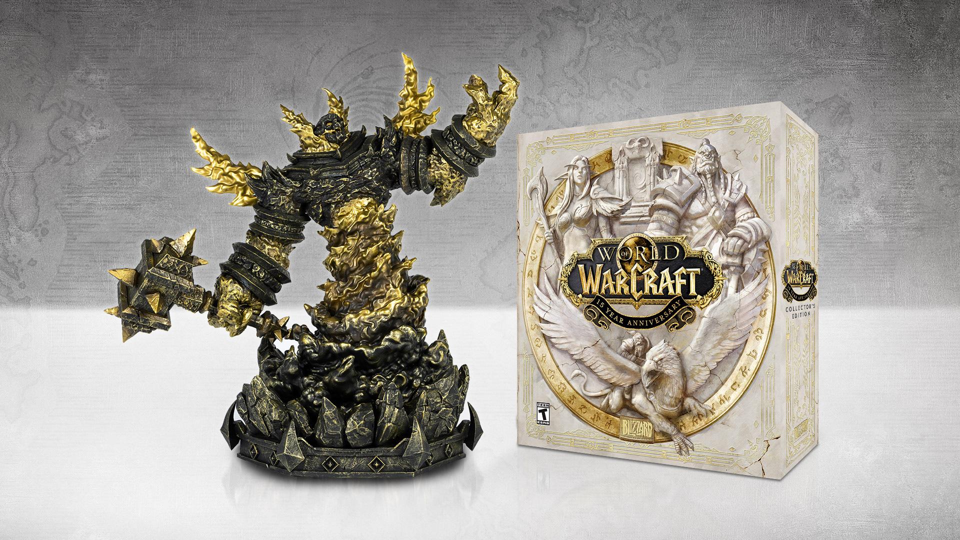 L'édition collector des 15 ans de WoW contient une statue de Ragnaros