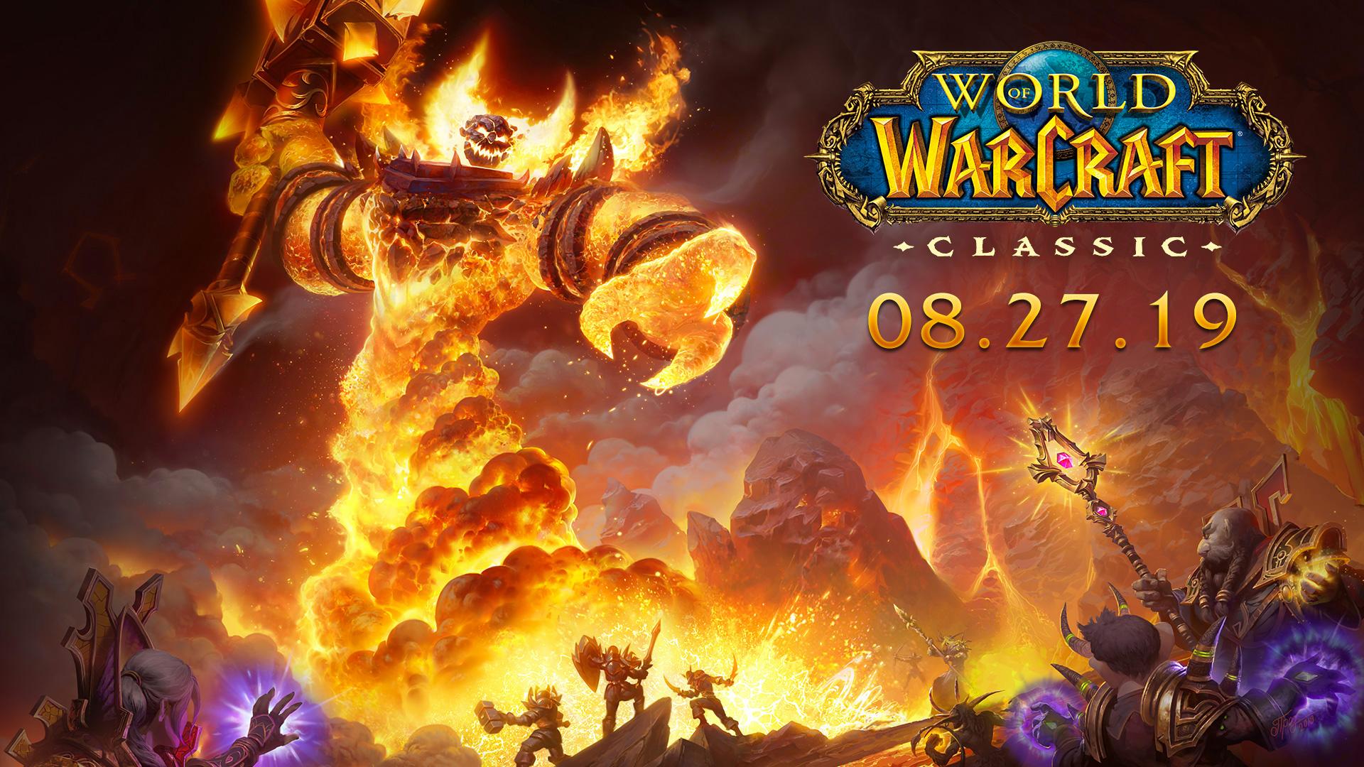 WoW Classic sort le 27 août dans le monde