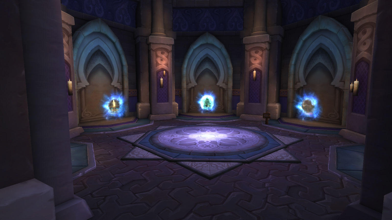 Portails à Dalaran au patch 8.1