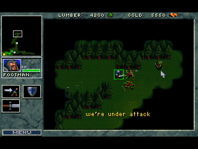 Deux armées féroces s'affrontent dans Warcraft: Orcs & Humains !
