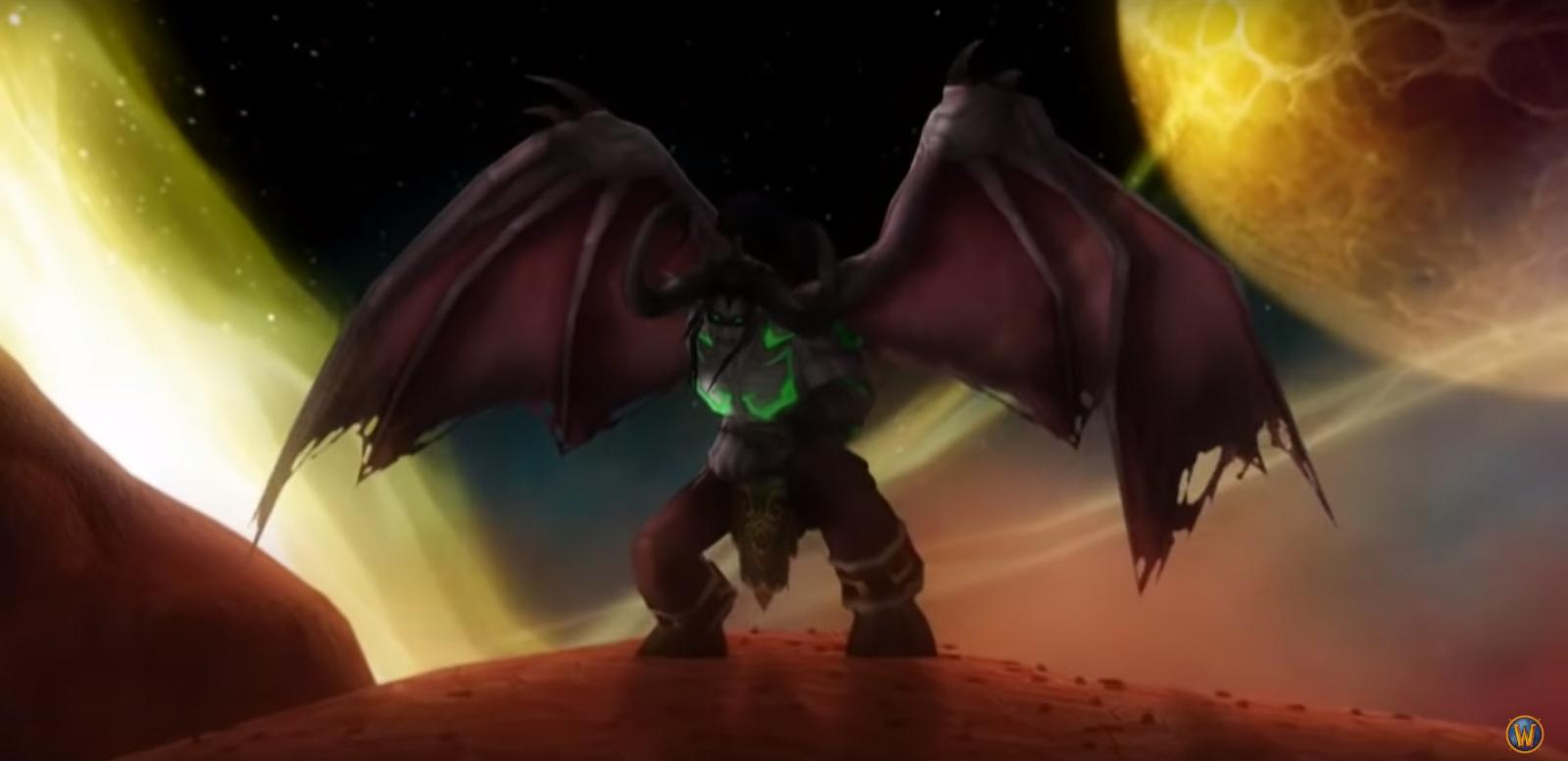 Version originale de la cinématique du patch 2.1 Temple noir