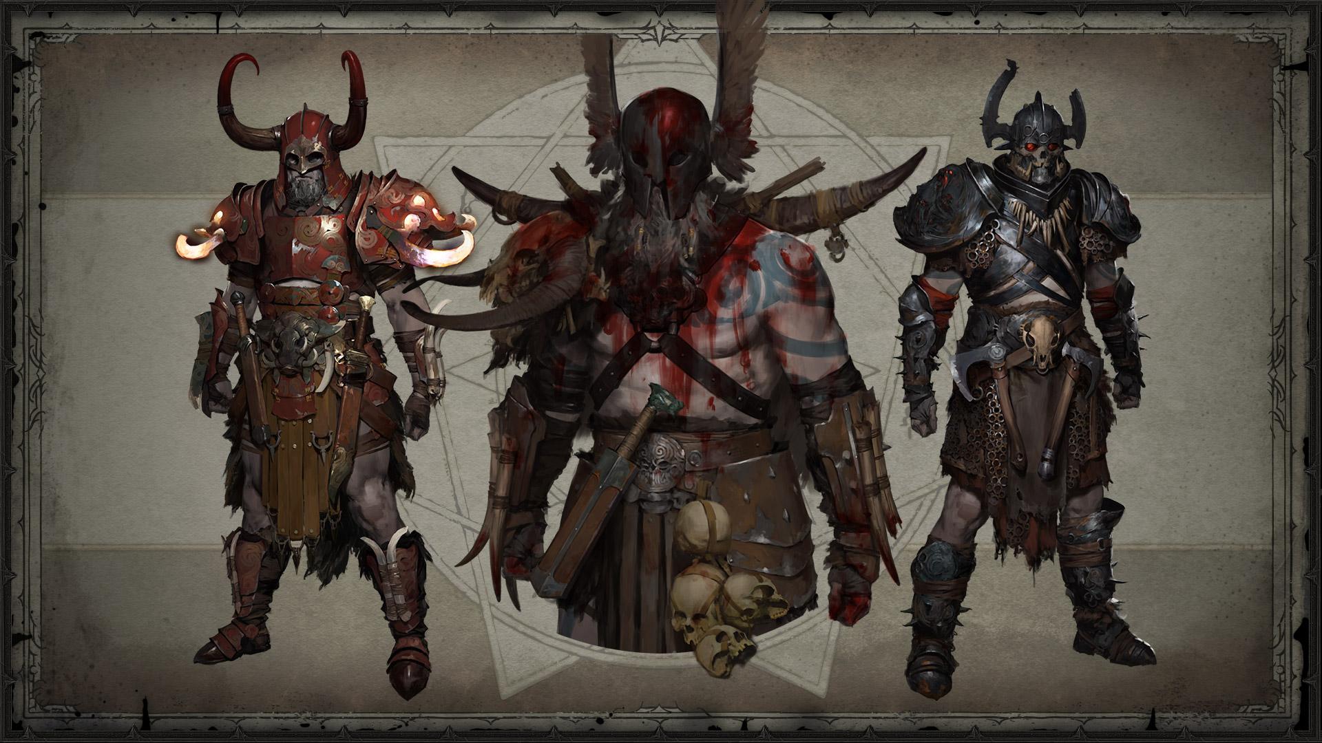 Le Barbare dans Diablo 4