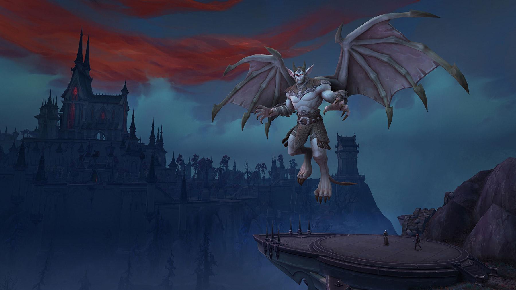 Le château Nathria est le premier raid de Shadowlands
