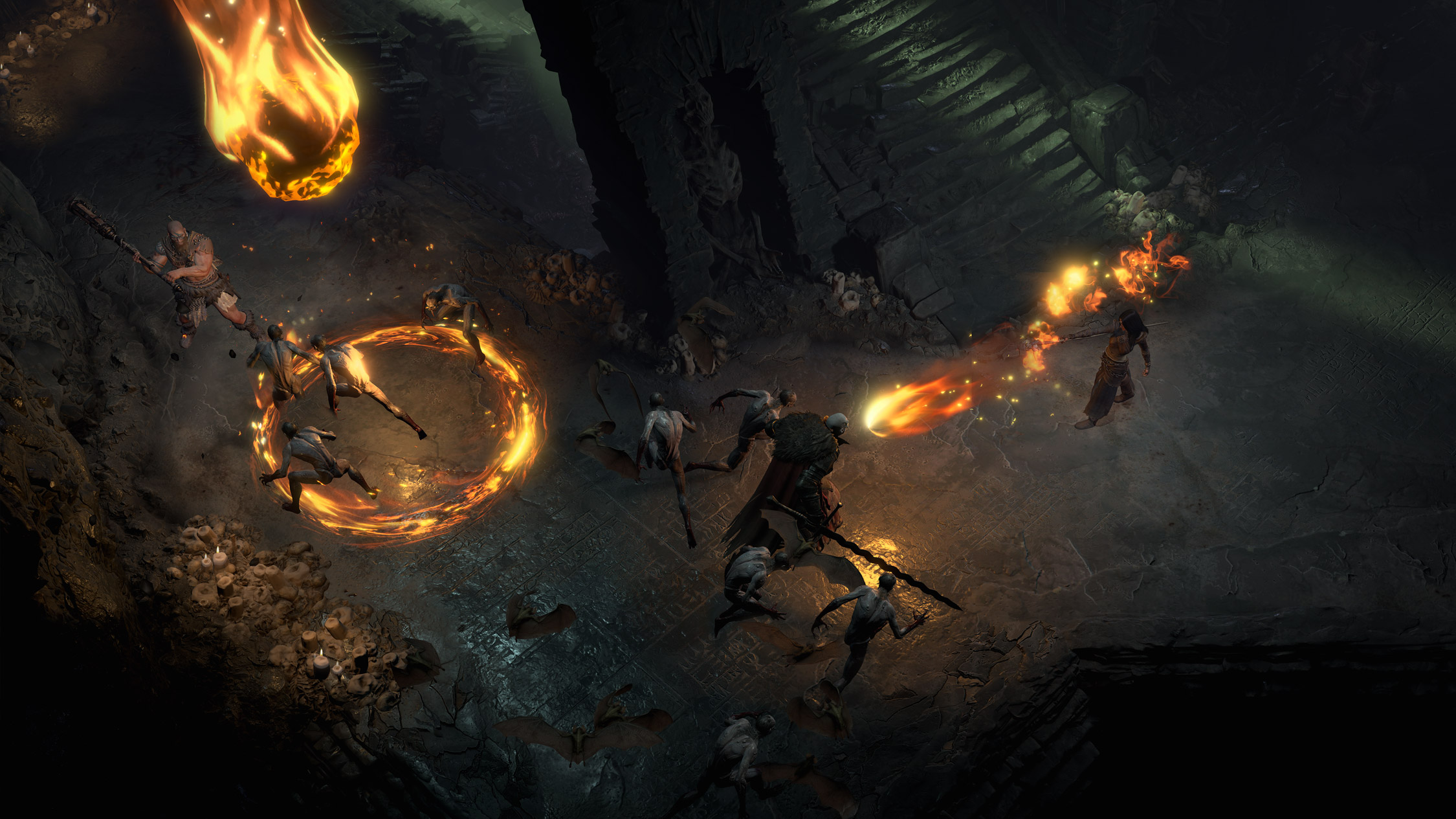 Les donjons seul ou à plusieurs sont une partie incontournable de Diablo 4