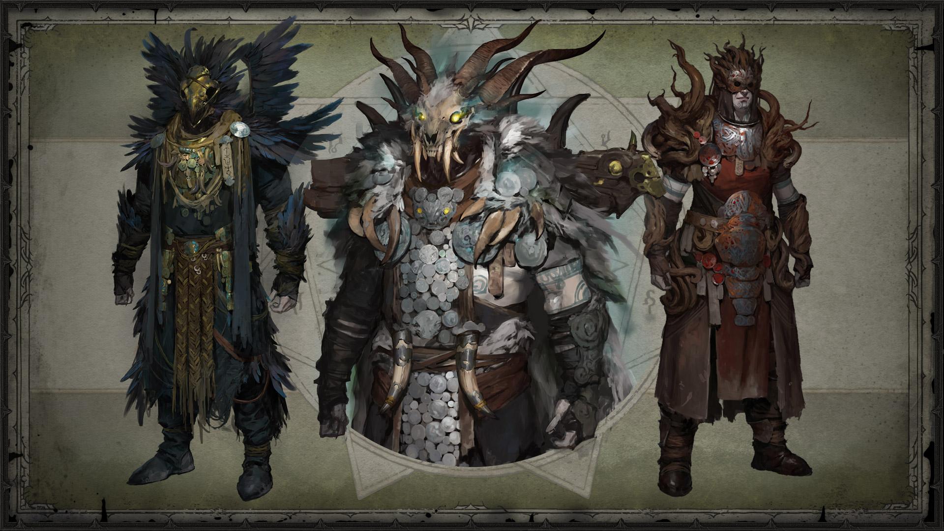 Le Druide fait son grand retour dans Diablo 4