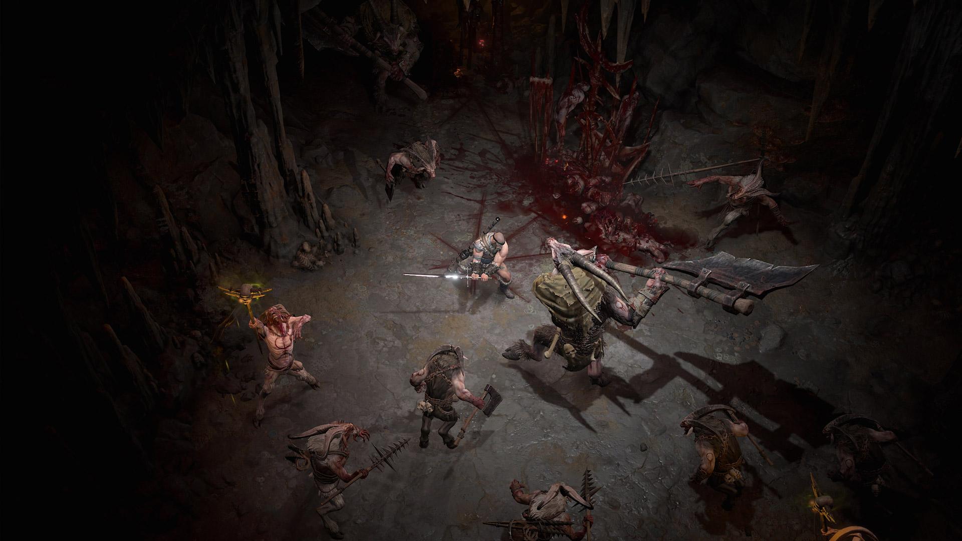 La violence et le sang sont omniprésents dans Diablo 4