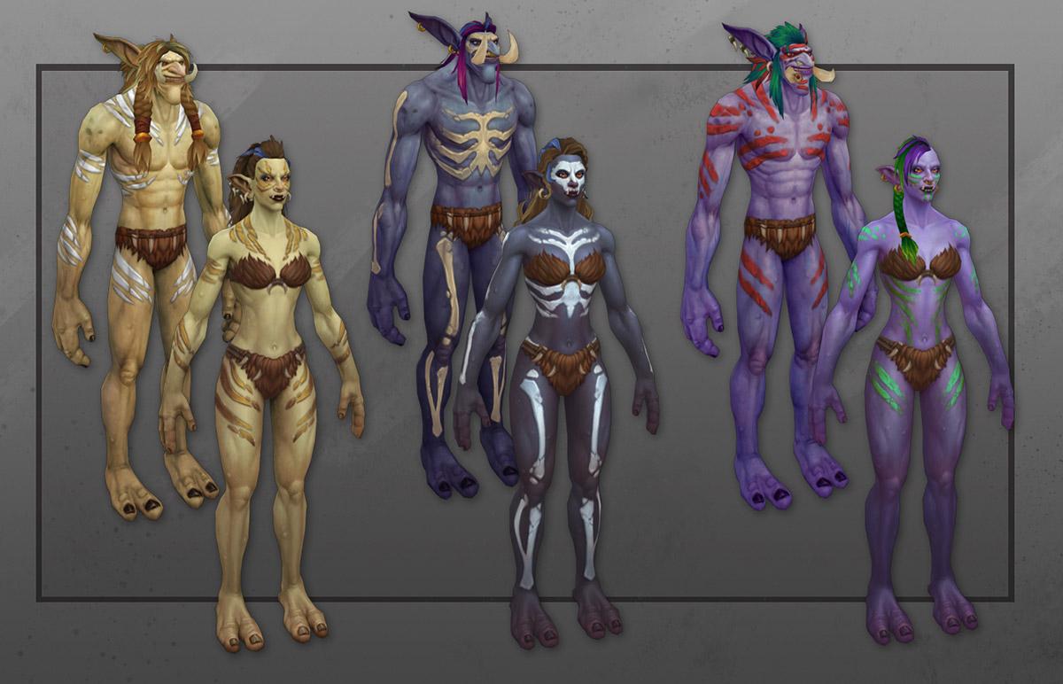 Blizzard travaille sur la personnalisation de personnage et ce qui a été montré n'est que le début.