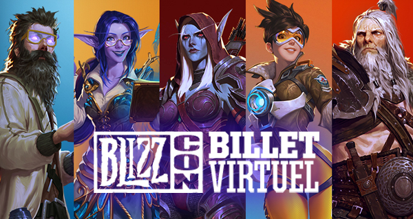 concours blizzcon 2019 : 2 billets virtuels a gagner
