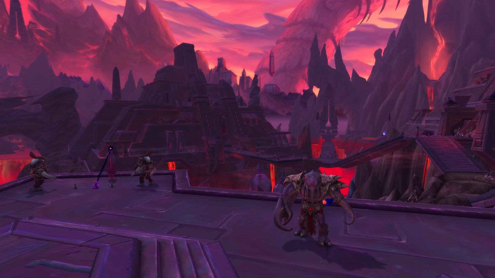 Raid du patch 8.3 : Ny'alotha dans World of Warcraft