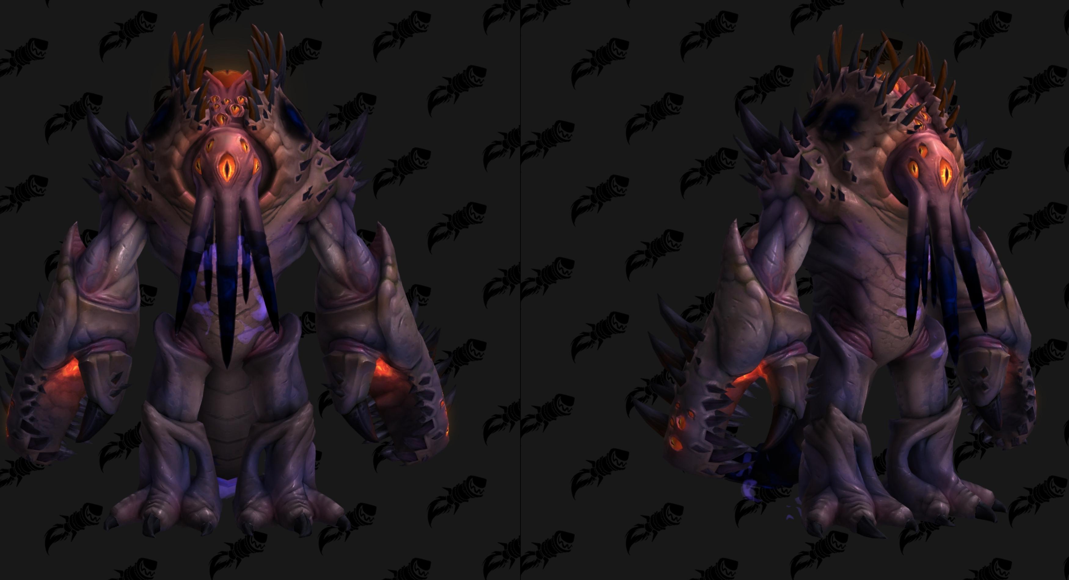 Nouveau modèle d'Avatar de N'Zoth au patch 8.3 de BFA