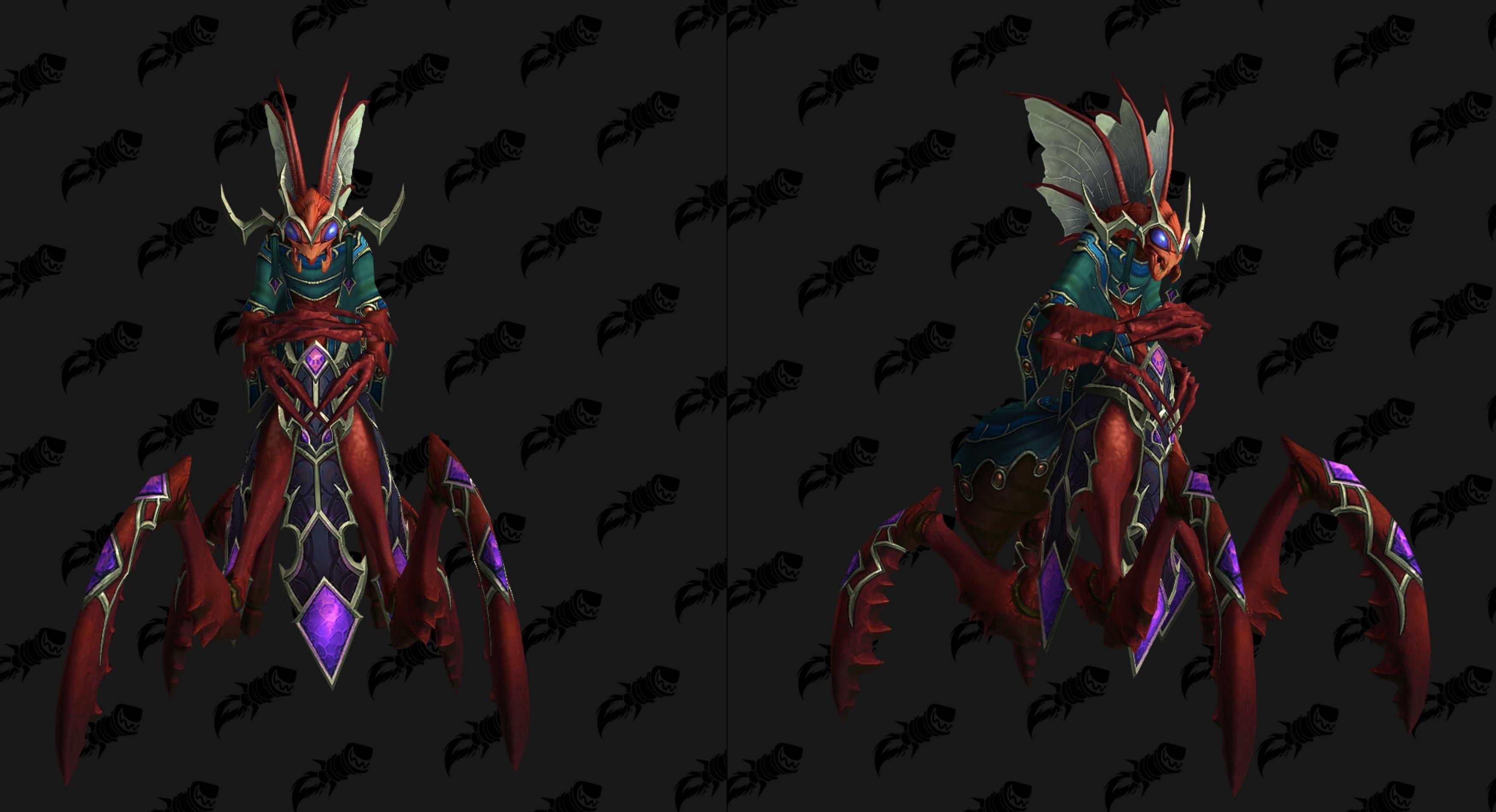 Nouveau modèle de la Grande Impératrice Shek'zara au patch 8.3 de BFA