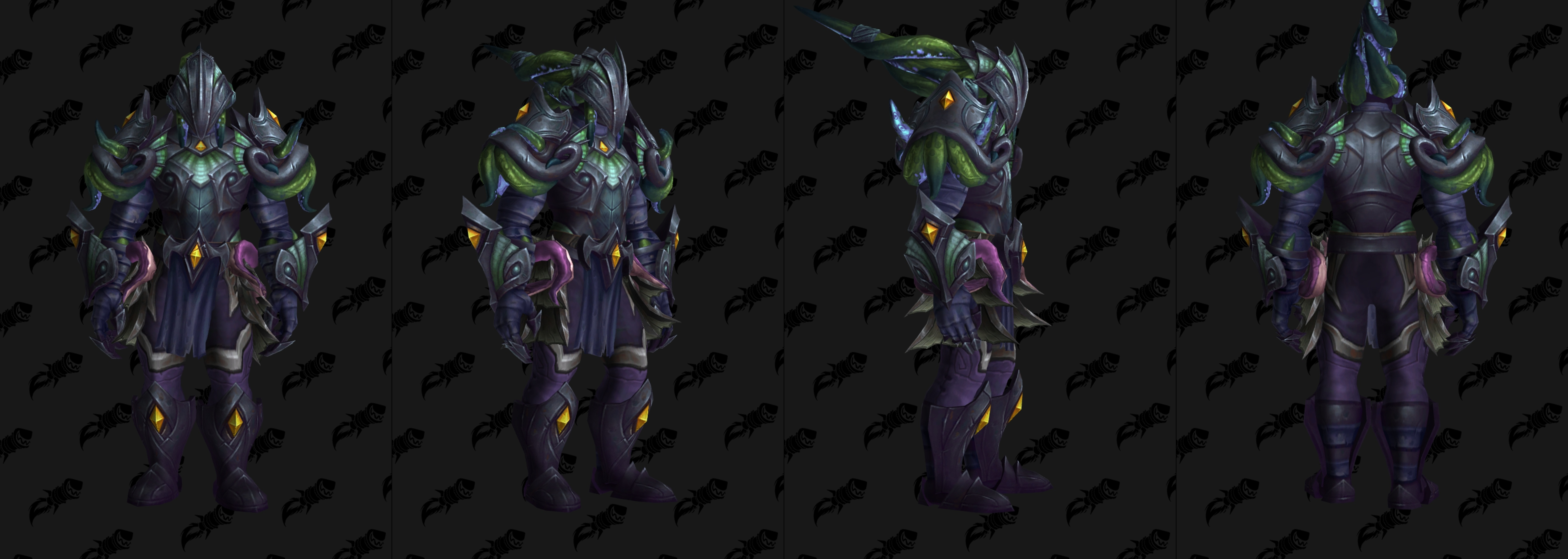 Ensemble d'armure Ny'alotha en plaque - Mode LFR