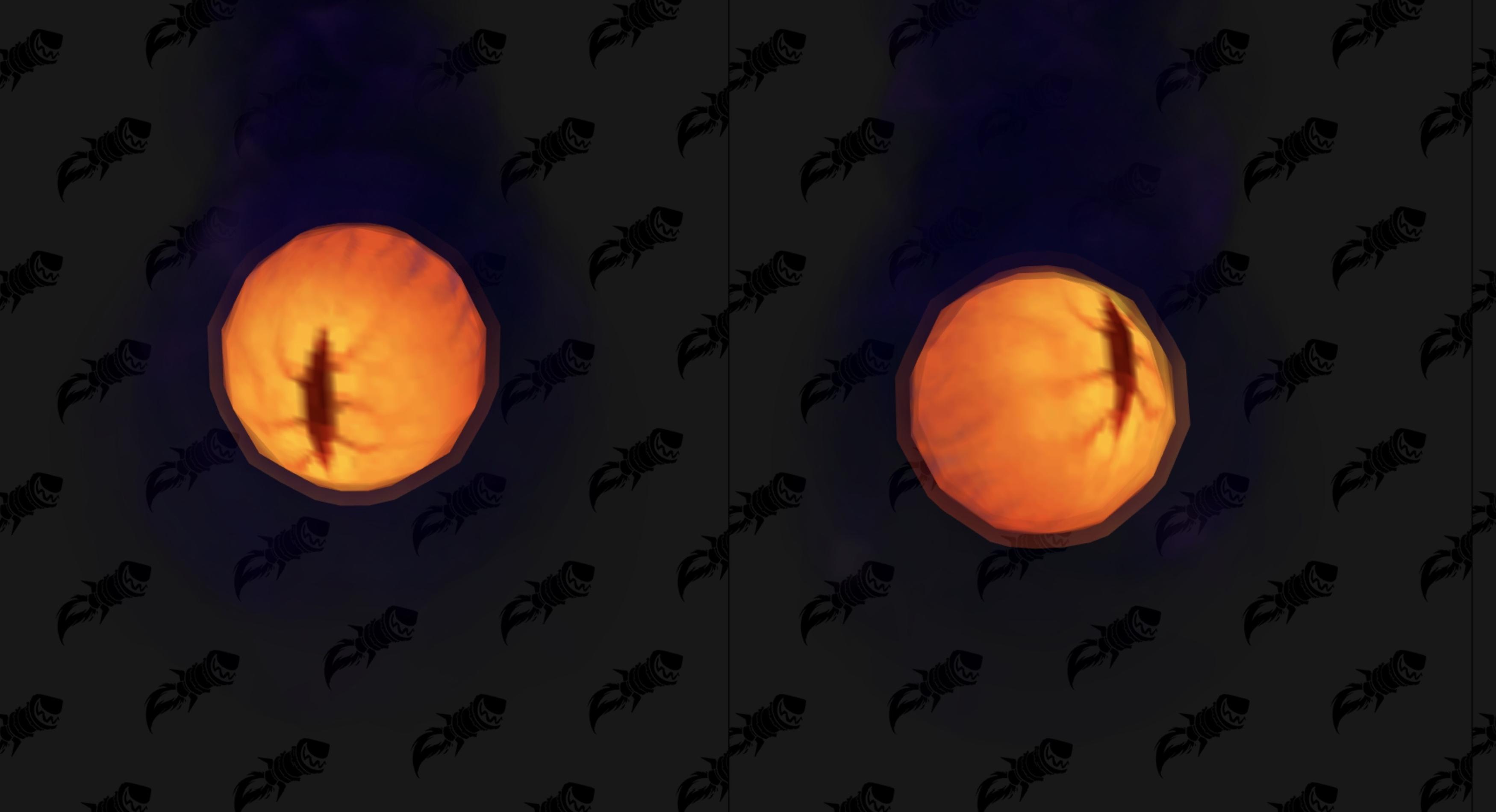 Nouveau modèle de mascotte Oeil de N'zoth au patch 8.3 de BFA