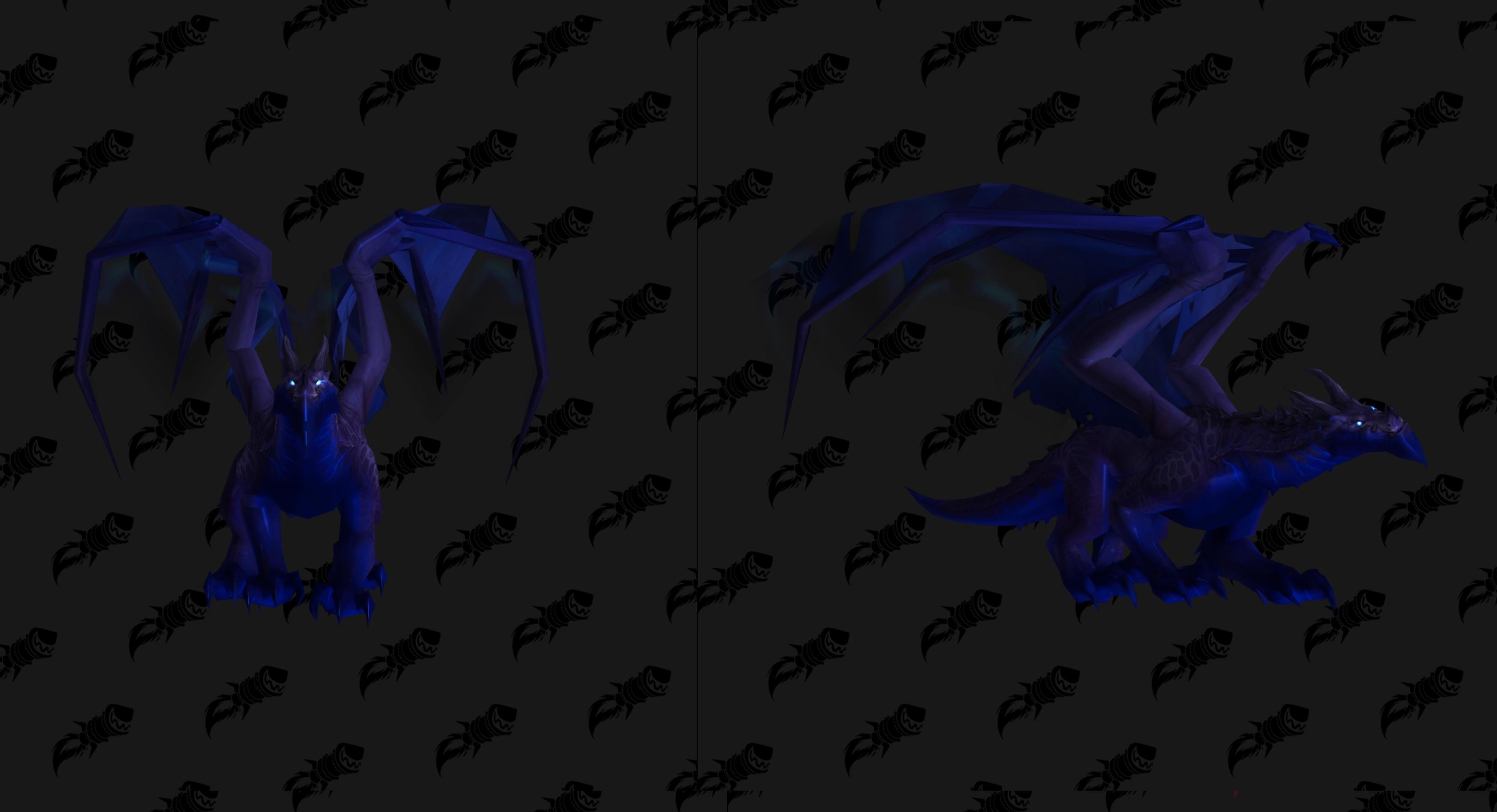 Nouveau modèle de Dragon Tempête du Néant au patch 8.3 de BFA
