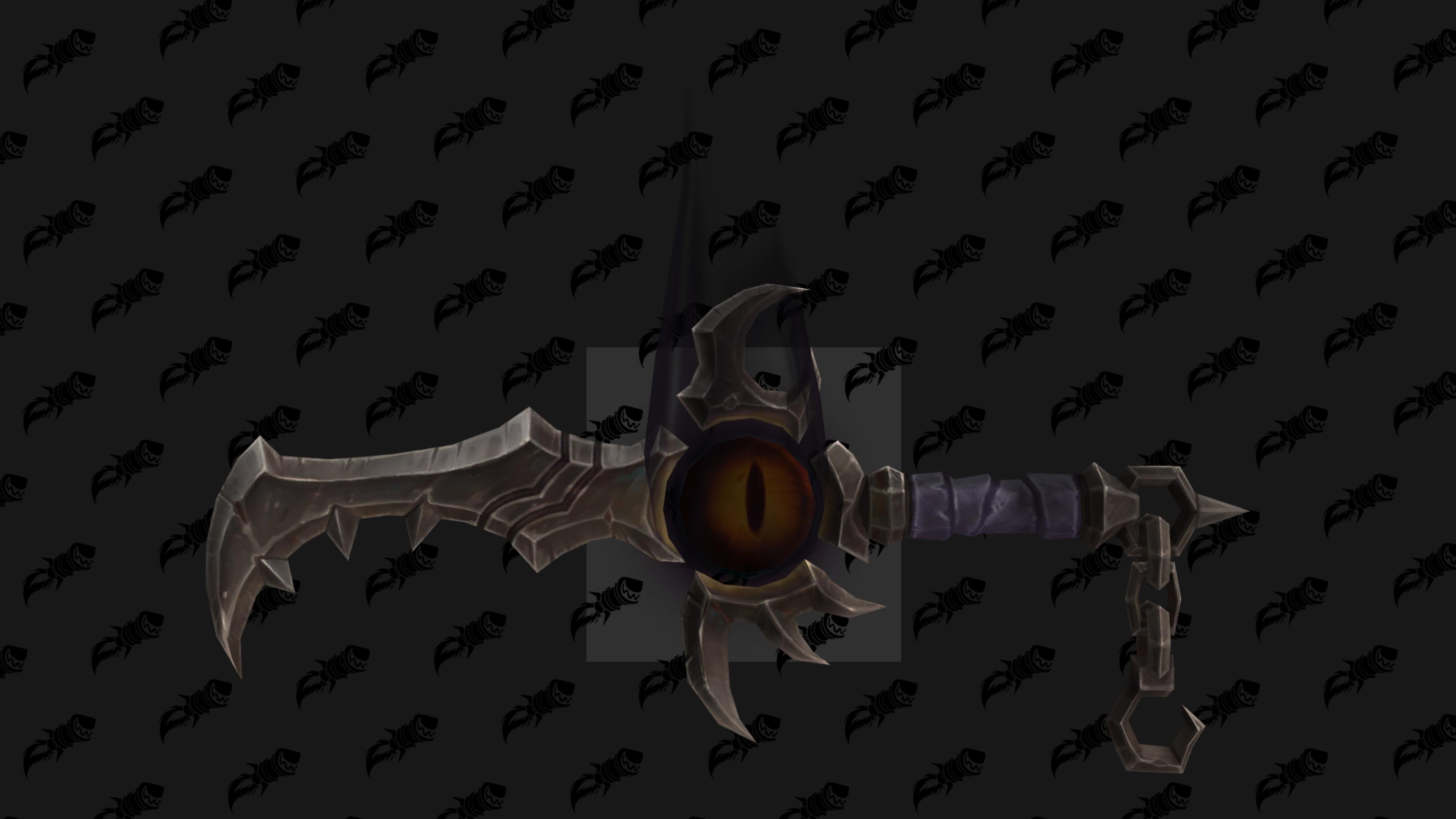 'Modèle de dague - Agilité (mode mythique)
