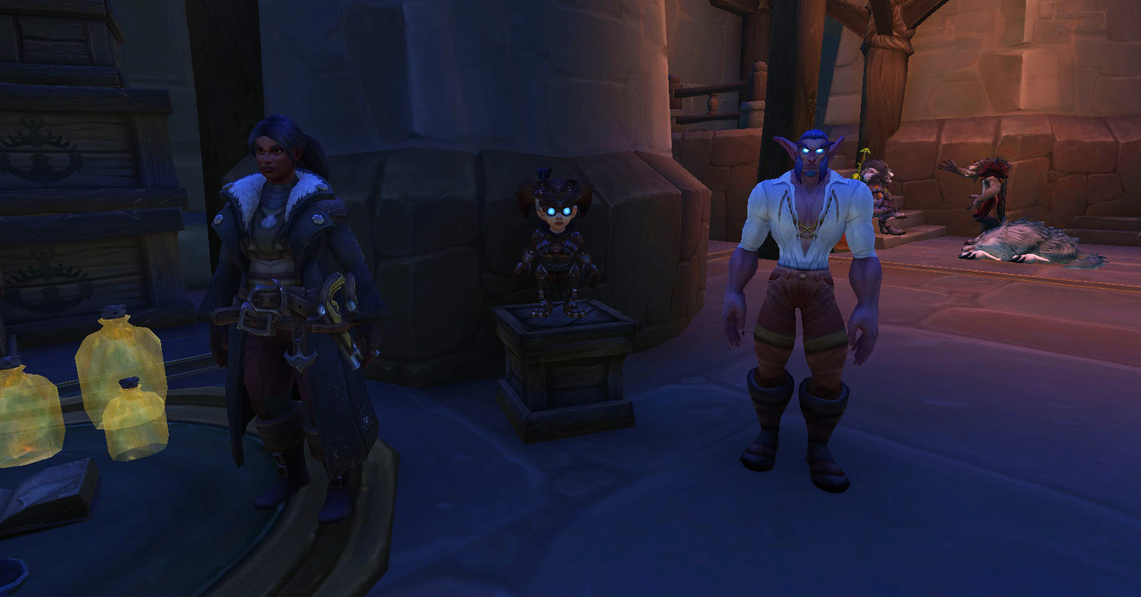 Capitaine Knightrunner de l'Alliance