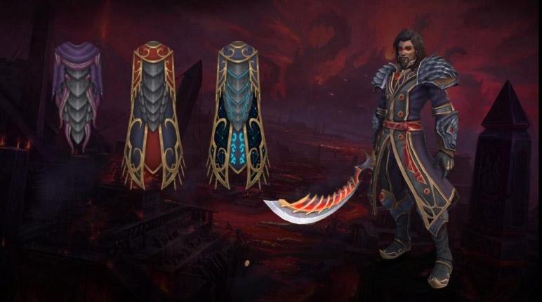 Irion vous procure une cape légendaire pour vous aider à affronter N'Zoth