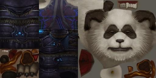 Asset Chevalier de la mort Pandaren