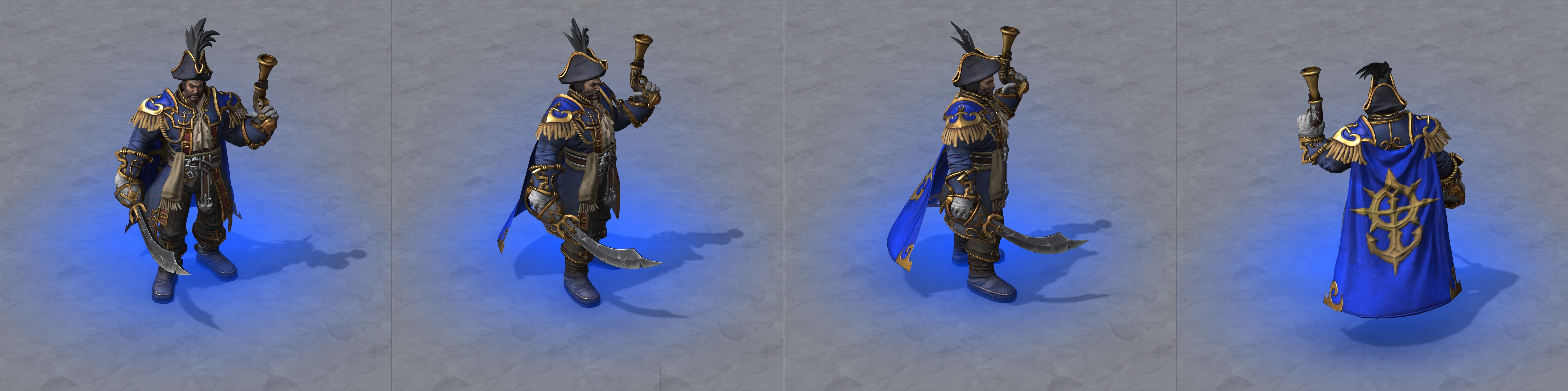 Warcraft III Reforged : Amiral Proudmoore