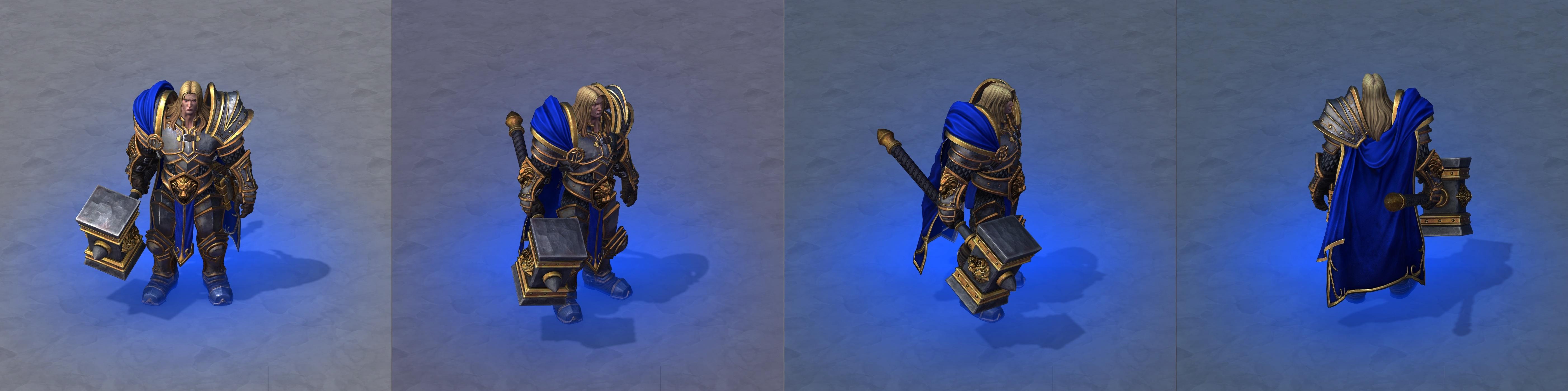 Warcraft III Reforged : Arthas