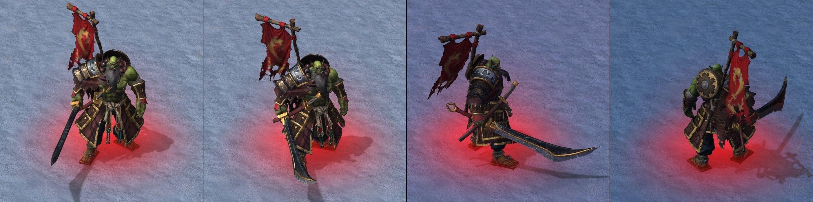 Warcraft III Reforged : Blademaster