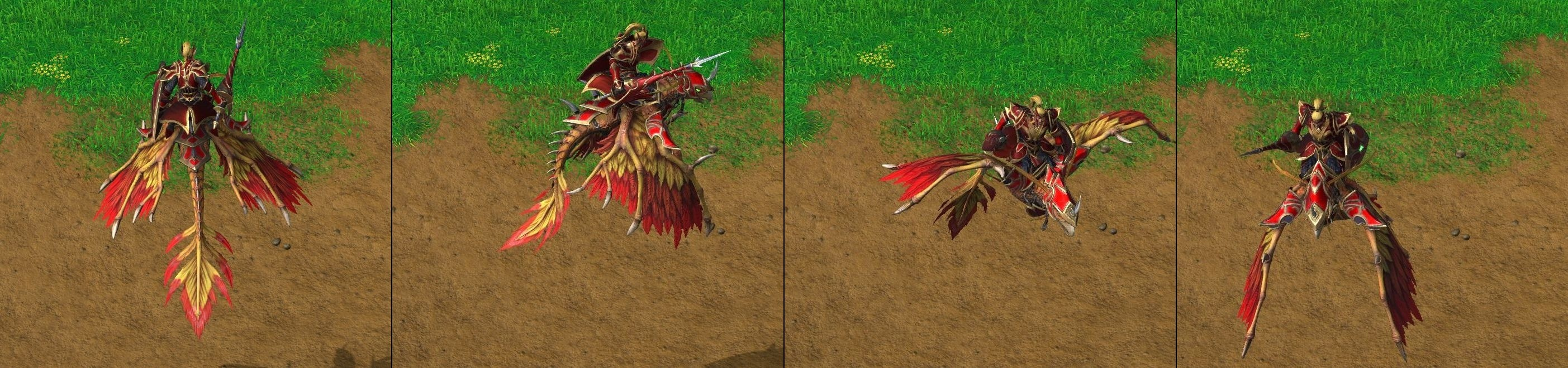 Warcraft III Reforged : Dragonhawk Rider