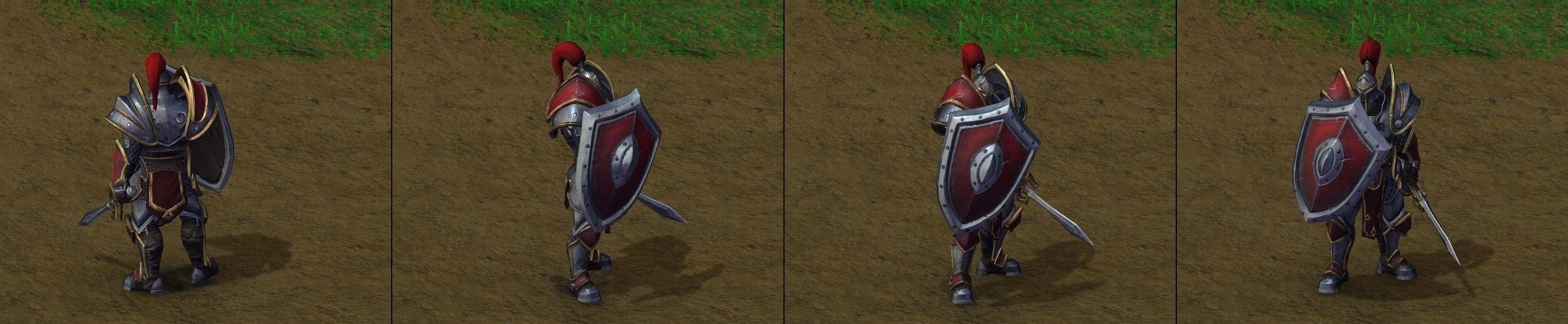 Warcraft III Reforged : Footman