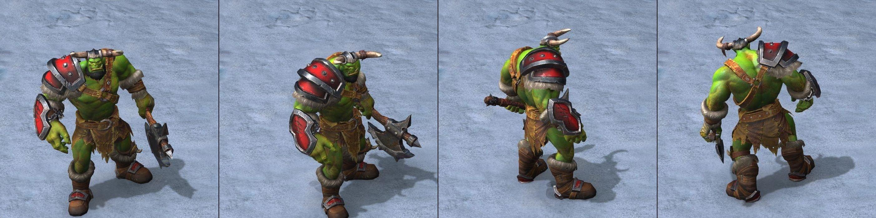 Warcraft III Reforged : Grunt