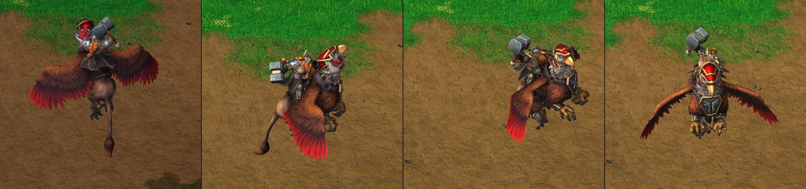 Warcraft III Reforged : Gryphon Rider