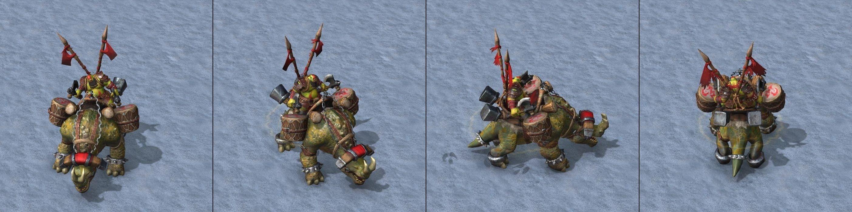Warcraft III Reforged : Kodo Beast