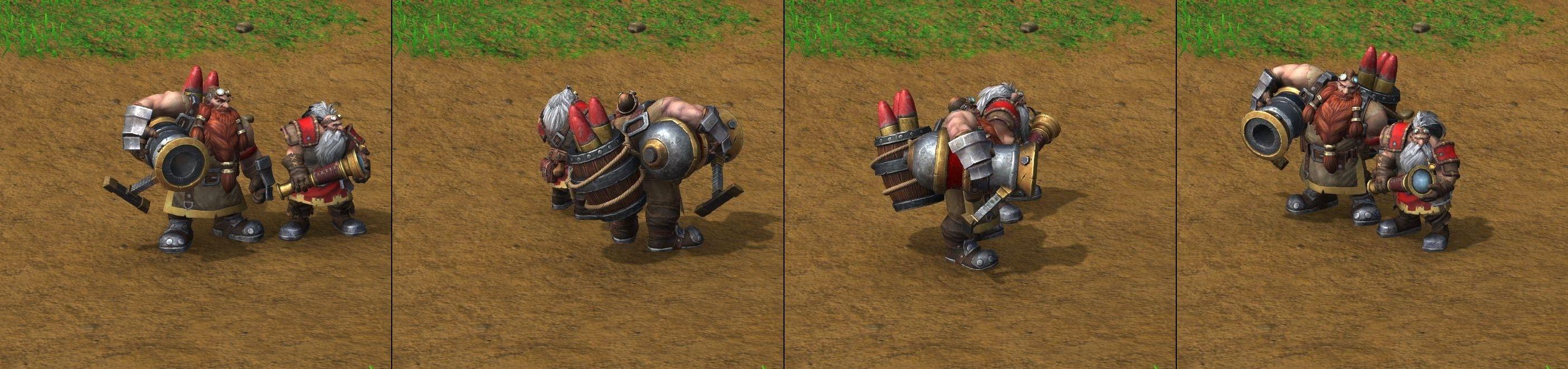 Warcraft III Reforged : Mortar Team