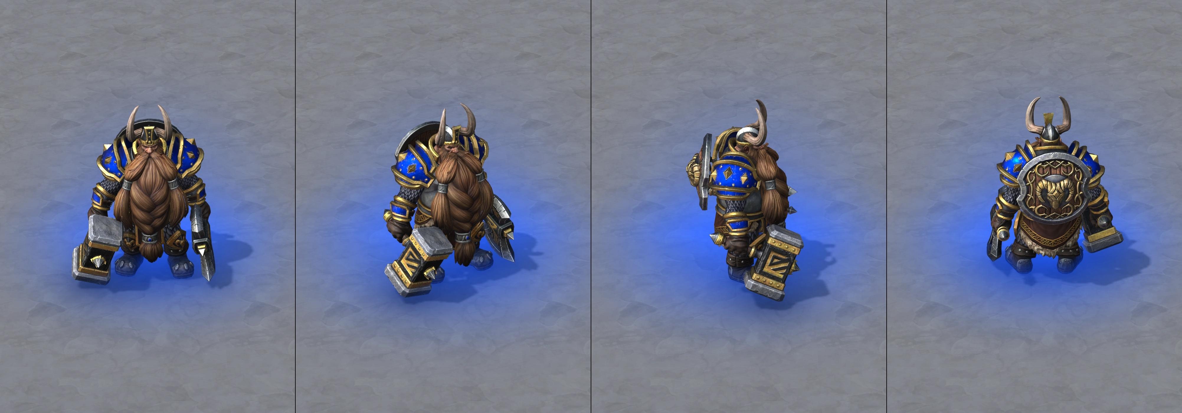 Warcraft III Reforged : Muradin Bronzebeard