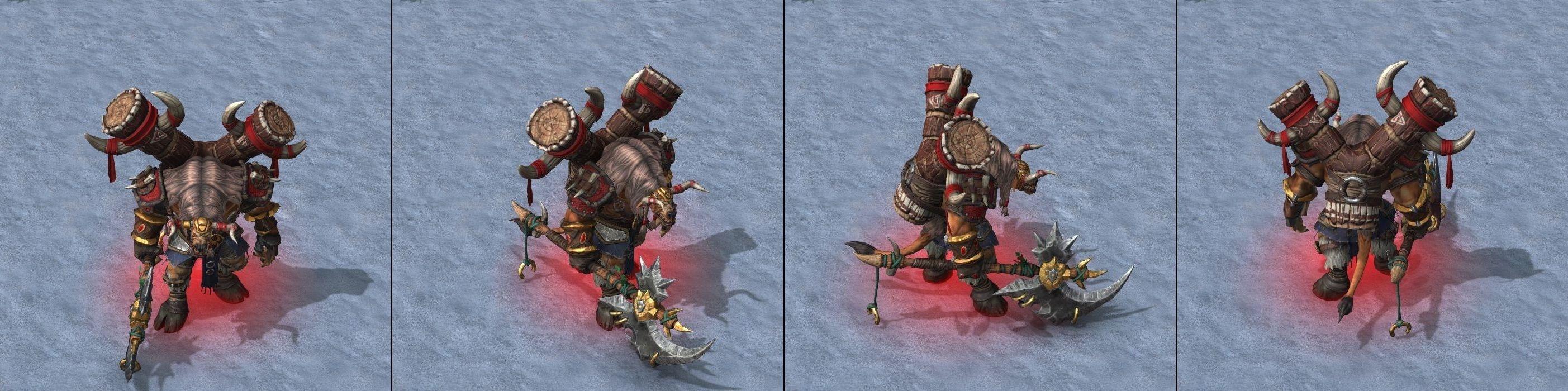 Warcraft III Reforged : Tauren Chieftain