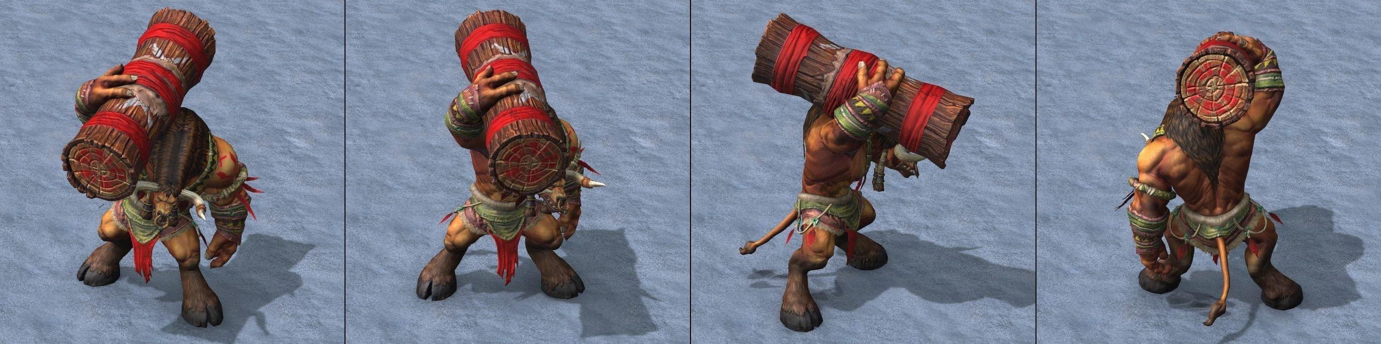 Warcraft III Reforged : Tauren