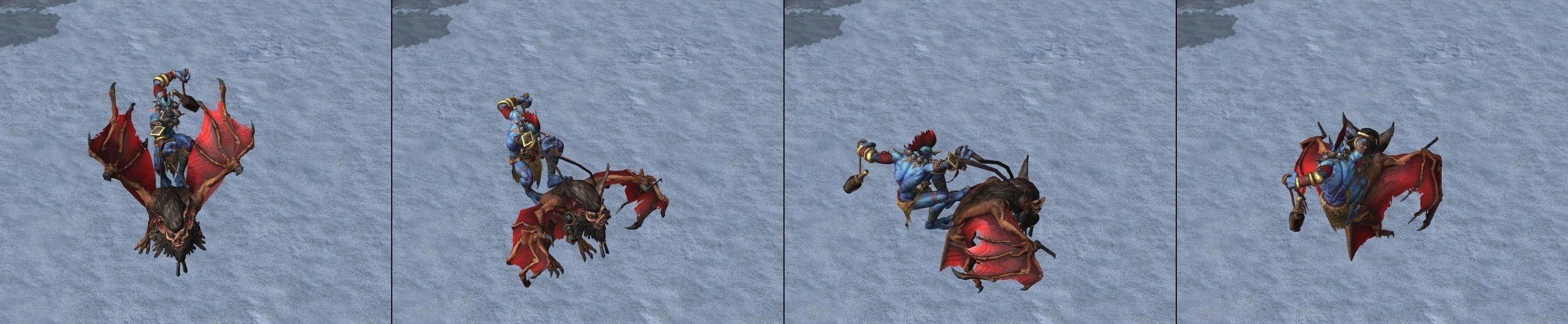 Warcraft III Reforged : Troll Batrider