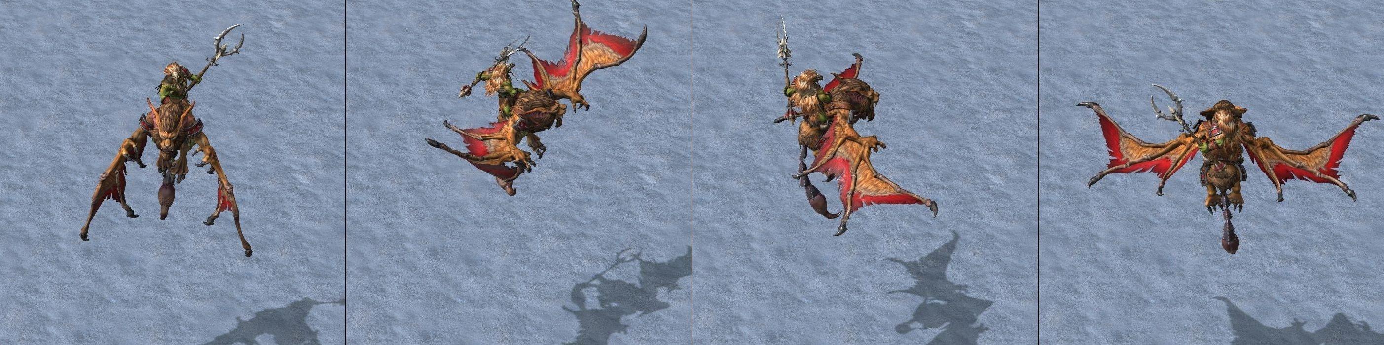 Warcraft III Reforged : Wind Rider