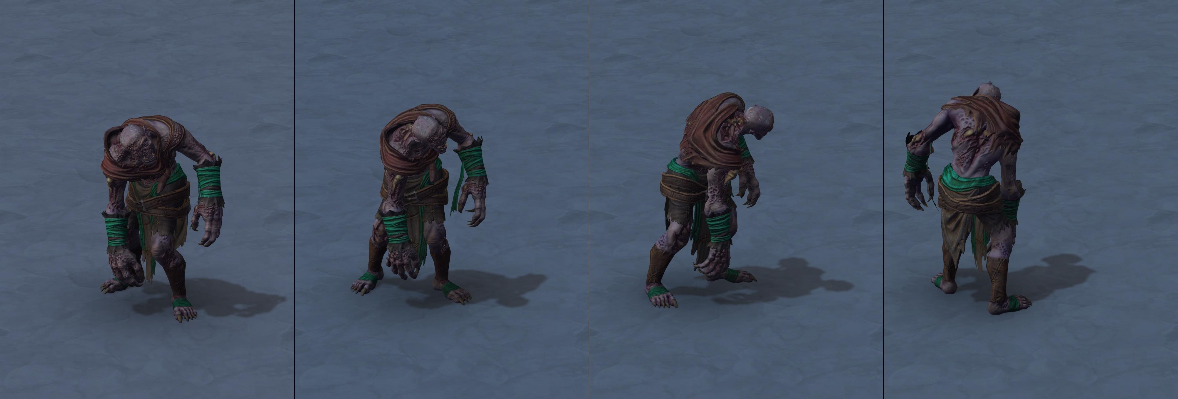 Warcraft III Reforged : Zombie