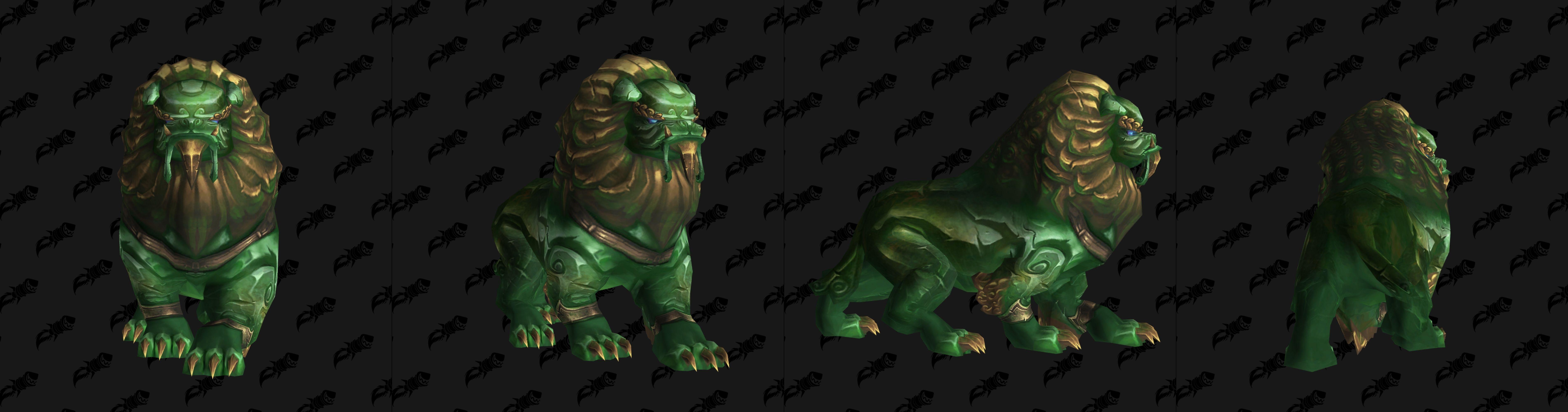 Modèle de mascotte Jade defender (patch 8.3)