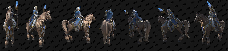 Warcraft III Reforged : Skin Jaina la fille du vent salé