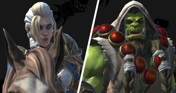 Warcraft Iii Reforged Jaina Thrall Et Elfes De La Nuit World