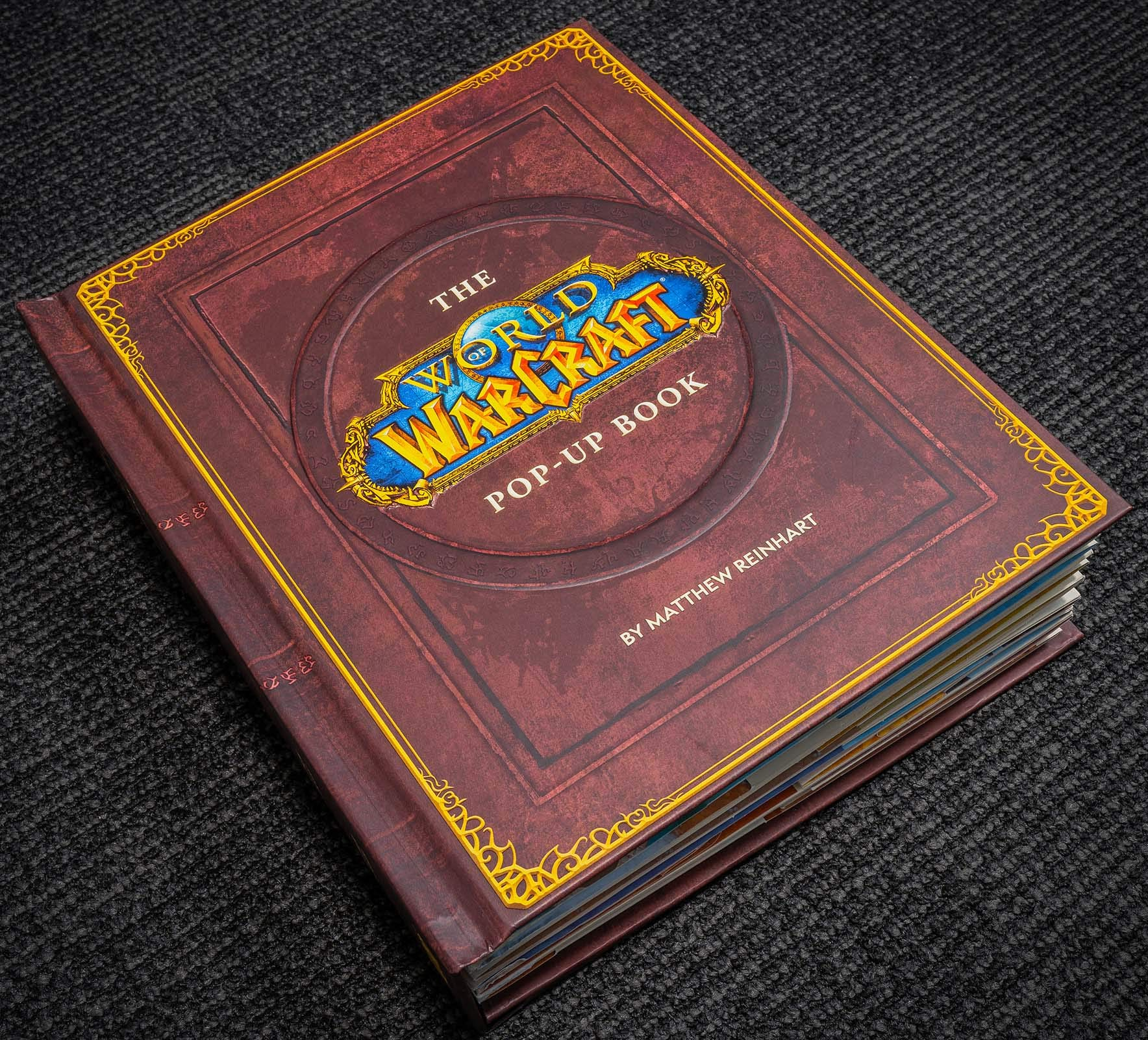 Livre pop-up World of Warcraft
