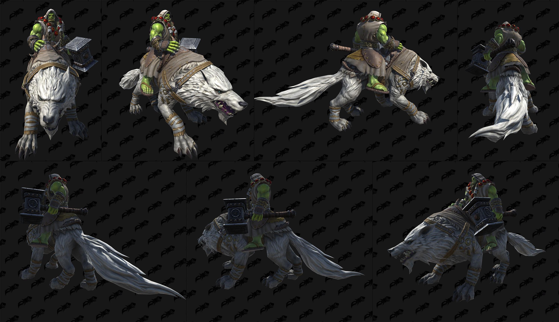 Warcraft III Reforged : Skin Thrall Champion de la Horde