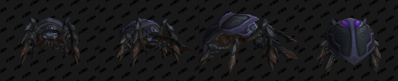 Modèle de mascotte Void-scarred Beetle (patch 8.3)